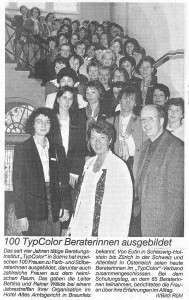100 TYP Color Farb- und Stilberater 1996