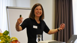 Dr. Doris Märtin beim Image update 2013