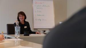Monika Bylitza ermutigt bei der Kunden-Akquise