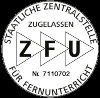 ZFU Staatliche Zentralstelle zugelassen Siegel