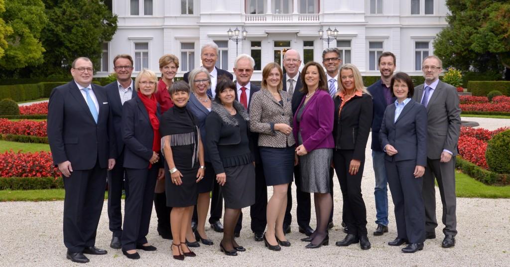 Der Deutsche Knigge-Rat mit Alumnis