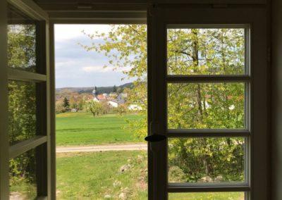 Schäferhäuschen_Blick aus Fenster