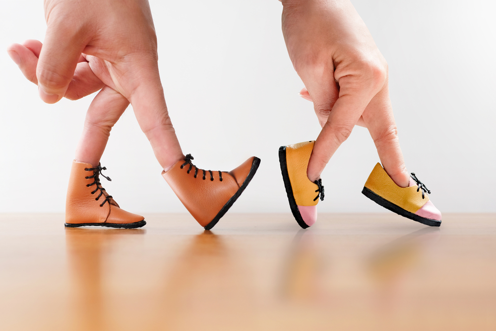 Ihre Schuhe sprechen Bände