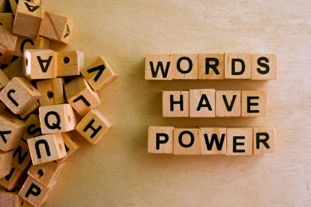 Sprache – Welche Worte benutzen wir?
