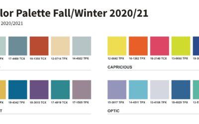 Trendfarben Herbst Winter 2020/2021